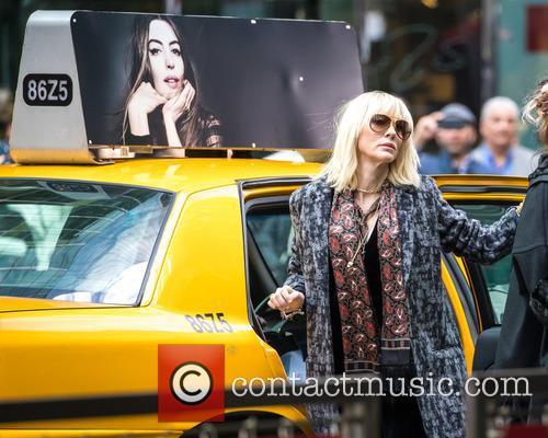 'Ocean's Eight' filming in Midtown New York