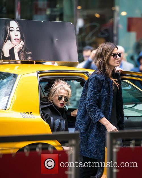 Helena Bonham Carter and Sandra Bullock 7