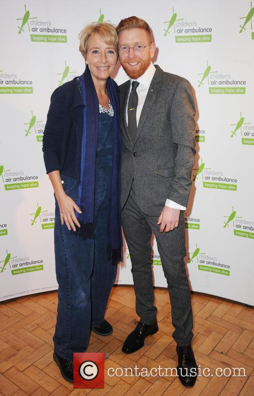 Emma Thompson and Paul A Young 1