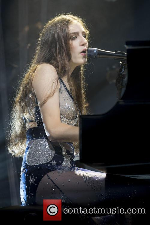 BIRDY performing at the Edinburgh Corn Exchange
