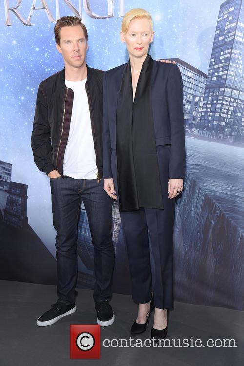 Tilda Swinton and Benedict Cumberbatch 1