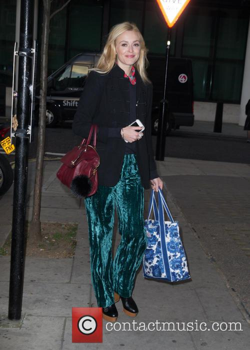 Fearne Cotton at the BBC