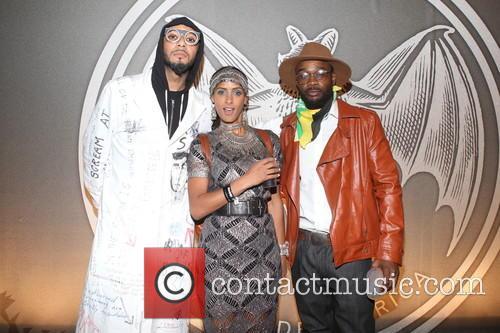 Swizz Beatz, Delphine Diallo and Guest 6