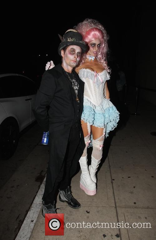Matt Bellamy and Elle Evans 2