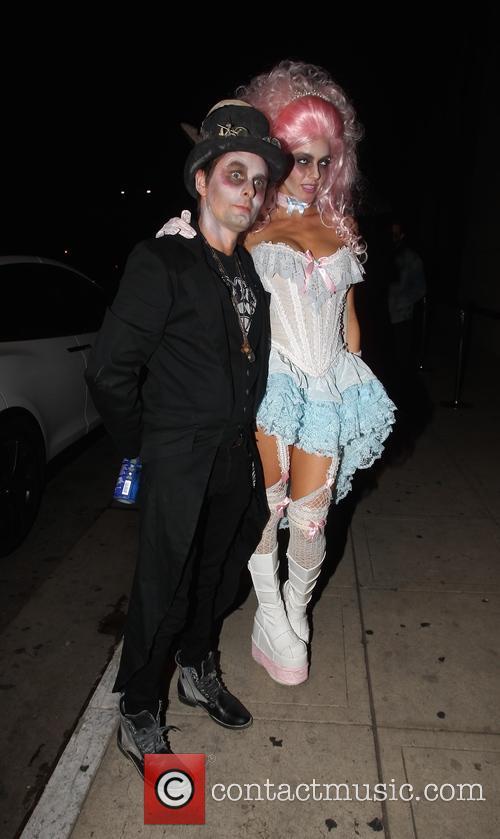 Matt Bellamy and Elle Evans 3