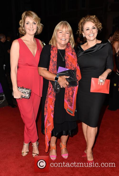Kaye Adams, Linda Robson and Nadia Sawalha