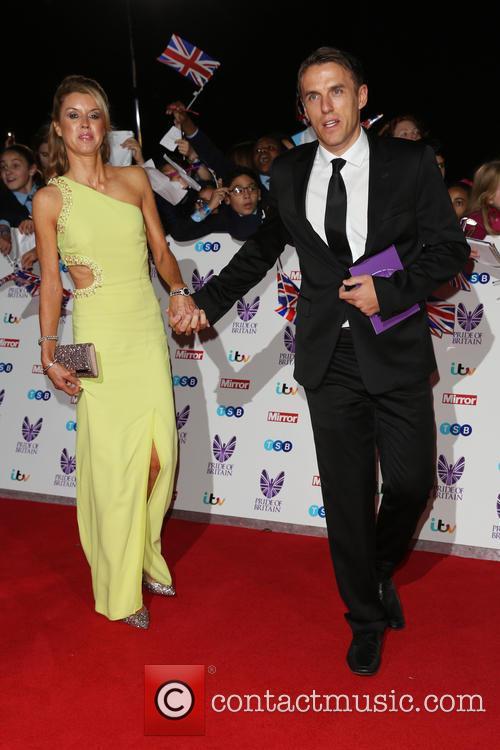 Julie Neville and Phil Neville 1