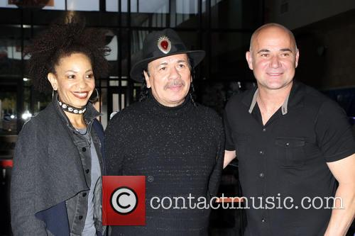 Andre Agassi and Carlos Santana support project 'Square...