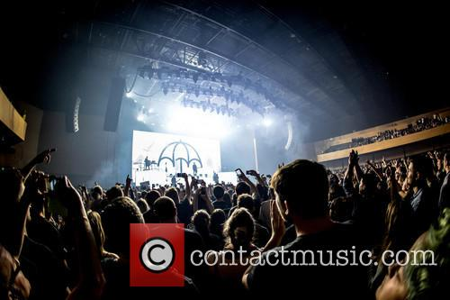 Bring Me The Horizon performing at the Bournemouth...