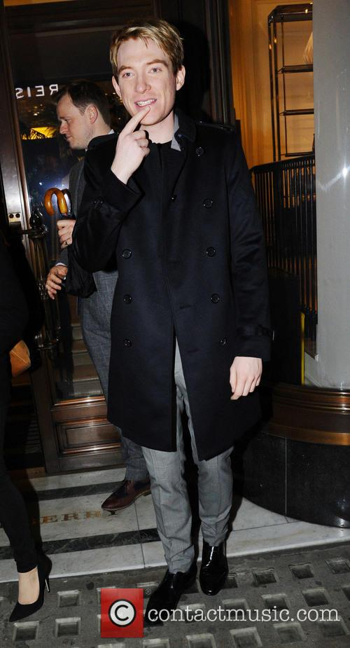 Domhnall Gleeson attends Burberry 'The Tale of Thomas...