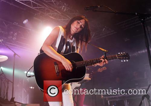 KT Tunstall performing at Liverpool O2 Academy