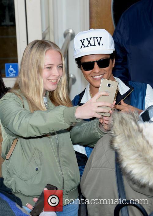 Bruno Mars at Maida Vale