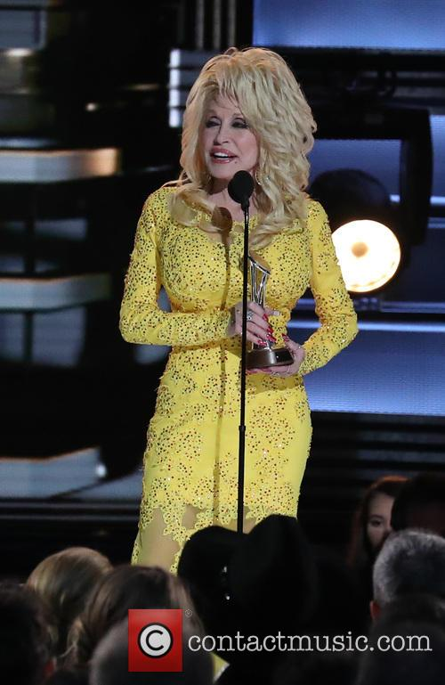 Dolly Parton at the CMA Awards