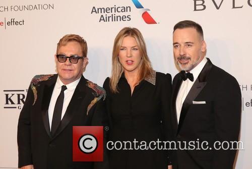 Sir Elton John, diana Krall and David Furnish 3