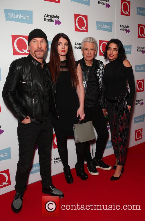 U2, The Edge and Adam Clayton