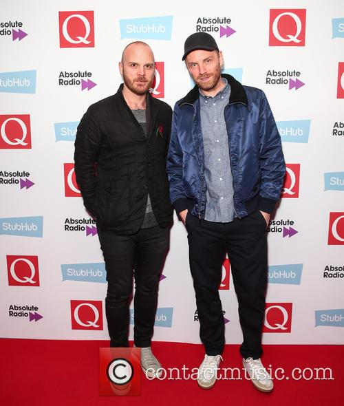 Coldplay, Jonny Buckland and Will Champion 2
