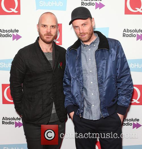 Coldplay, Jonny Buckland and Will Champion 3