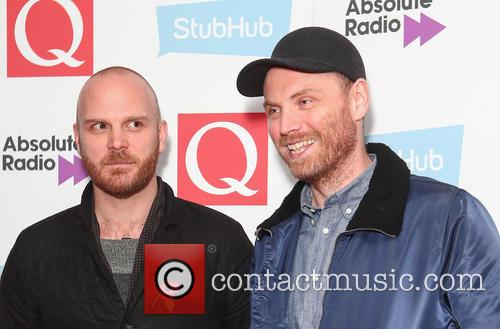 Coldplay, Jonny Buckland and Will Champion 4