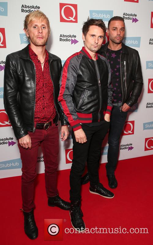 Muse, Matt Bellamy, Chris Wolstenholme and Dominic Howard 2