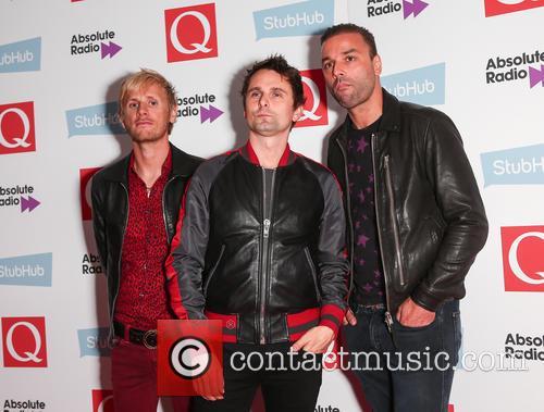 Muse, Matt Bellamy, Chris Wolstenholme and Dominic Howard 3