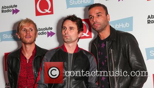 Muse, Matt Bellamy, Chris Wolstenholme and Dominic Howard 4