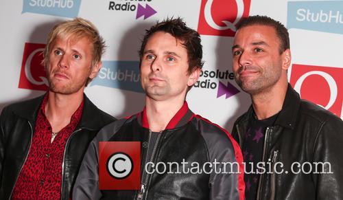 Muse, Matt Bellamy, Chris Wolstenholme and Dominic Howard 5