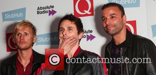 Muse, Matt Bellamy, Chris Wolstenholme and Dominic Howard 6