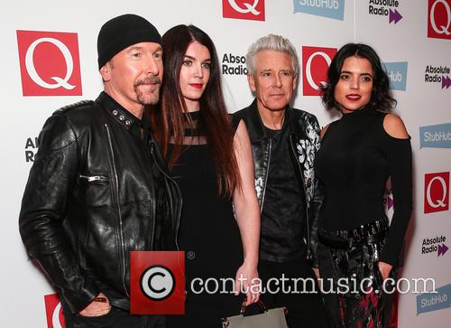 U2, The Edge, David Evans and Adam Clayton 4