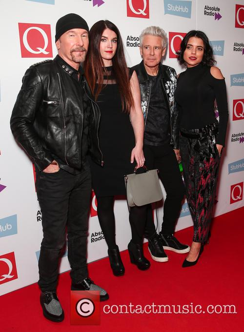 U2, The Edge, David Evans and Adam Clayton 5