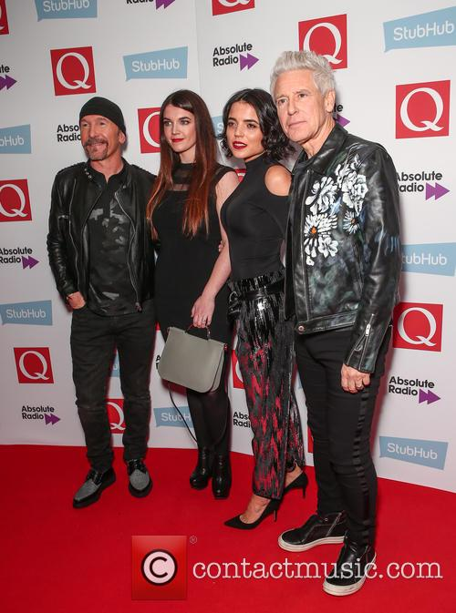 U2, The Edge, David Evans and Adam Clayton 8