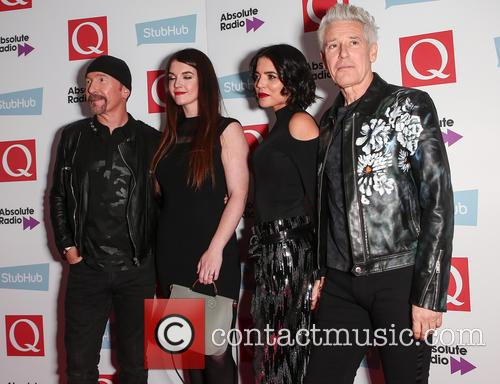 U2, The Edge, David Evans and Adam Clayton 9