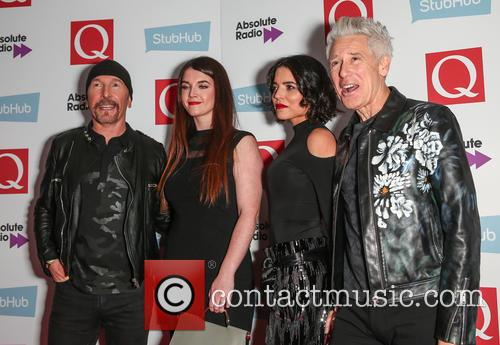 U2, The Edge, David Evans and Adam Clayton 11