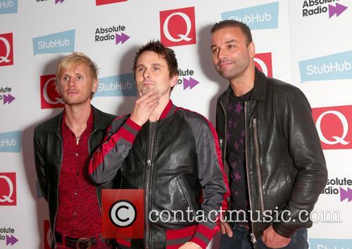 Dominic Howard, Chris Wolstenholme, Matt Bellamy and Muse 1