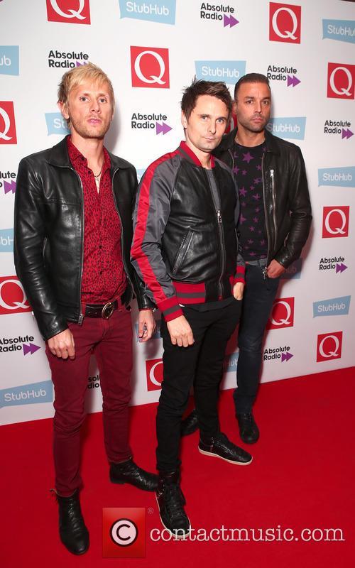 Dominic Howard, Chris Wolstenholme, Matt Bellamy and Muse 2