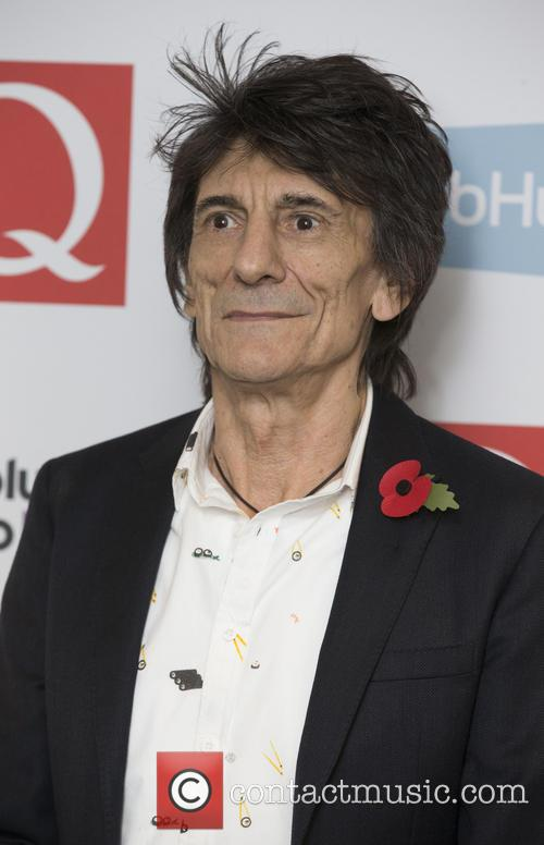 Ron Wood and Ronnie Wood 2