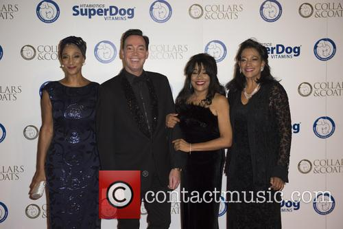 Craig Revel Horwood and Sister Sledge