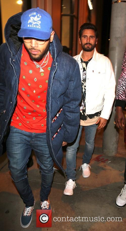 Chris  Brown and Scott Disick 2
