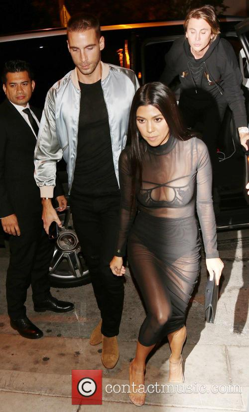 Kourtney Kardashian and Jonathan Cheban 4