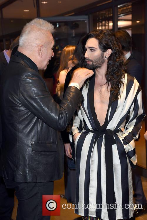 Conchita Wurst and Jean Paul Gaultier