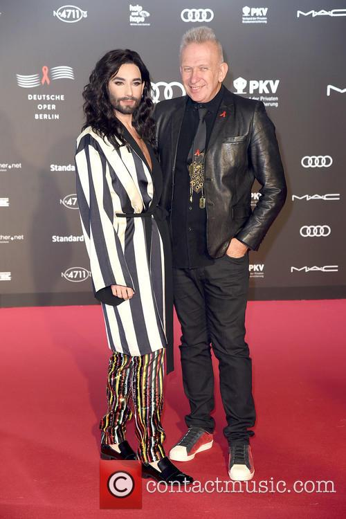 Conchita Wurst and Jean Paul Gaultier 8