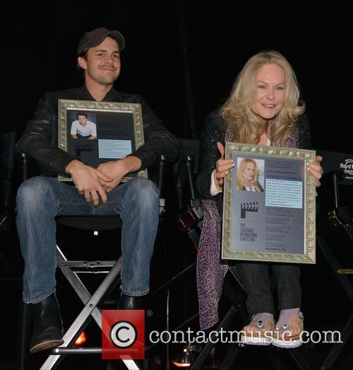 Johnny Simmons and Beverly D'angelo 5