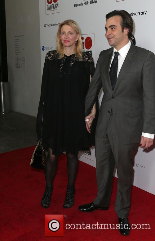 Courtney Love and Nicholas Jarecki