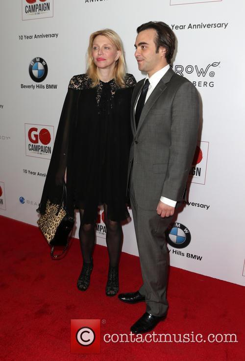 Courtney Love and Nicholas Jarecki 3