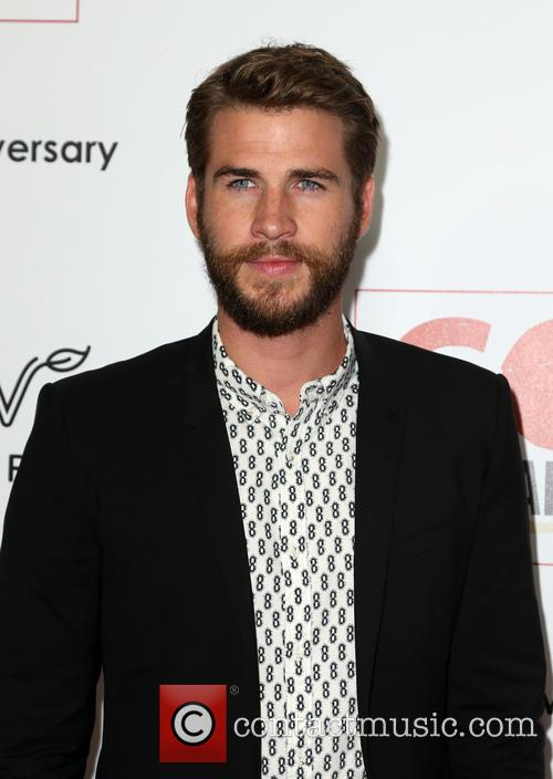 Liam Hemsworth at the Go Campaign gala