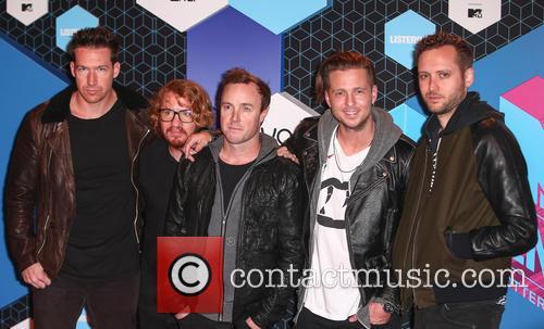 Zach Filkins, Ryan Tedder, Eddie Fisher, Brent Kutzle, Drew Brown and Onerepublic
