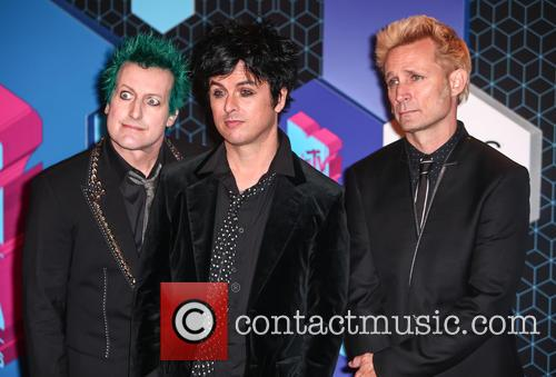 Green Day, Billie Joe Armstrong, Mike Dirnt, Tré Cool and Tre Cool 6
