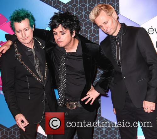 Green Day, Billie Joe Armstrong, Mike Dirnt, Tré Cool and Tre Cool 8