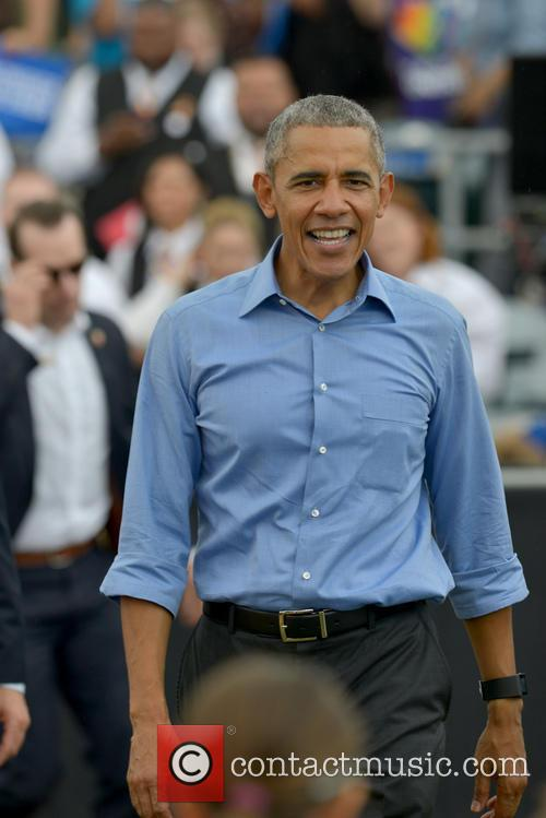 Barack Obama at the Kissimmee Rally