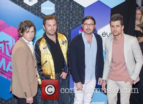 Kings Of Leon, Caleb Followill, Jared Followill, Matthew Followill and Nathan Followill