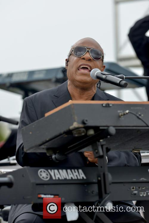 Kissimmee Rally with Stevie Wonder